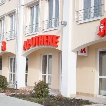 Firmenschild Apotheke Offenbach