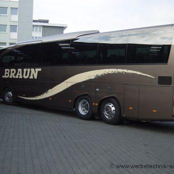 Busbeschriftung