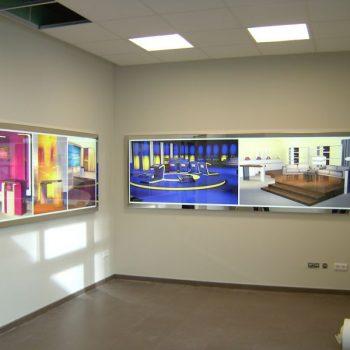 DIA-Leuchtkasten mit Digitaldruck