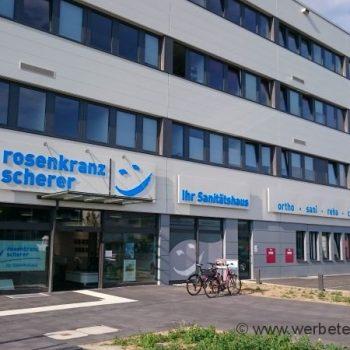 Firmenschild Fassade