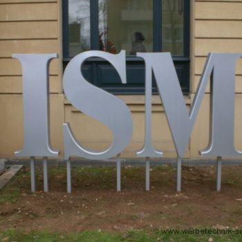 Einzelbuchstaben Firmenschild