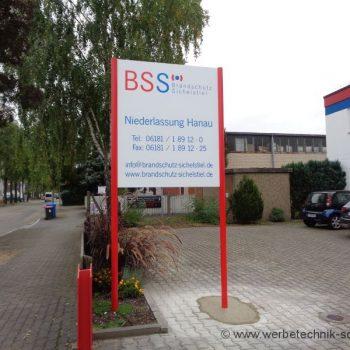 Firmenschild Hanau