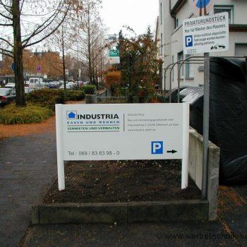 Firmenschild Offenbach