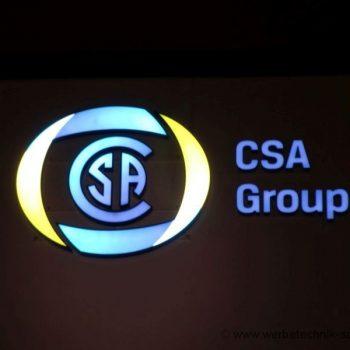 Einzelbuchstaben Firmenschild LED-Lichtwerbung