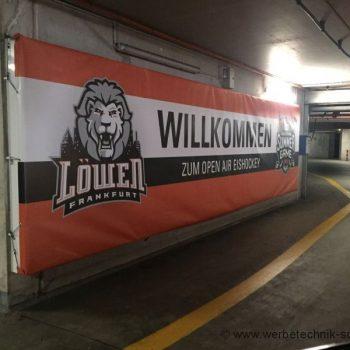 Sportplatzwerbung Banner Wiesbaden