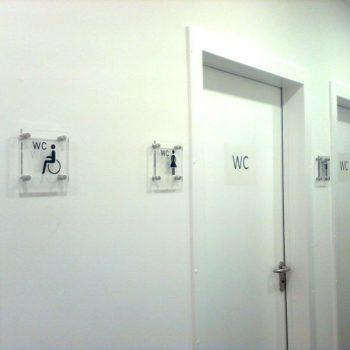 Toilettenbeschilderung