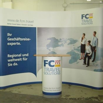 Messestand FCm Travel Solutions