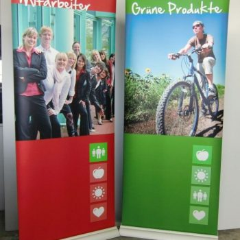 Roll-Up Digitaldruck Display
