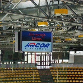Bannerwerbung Eisporthalle Frankfurt